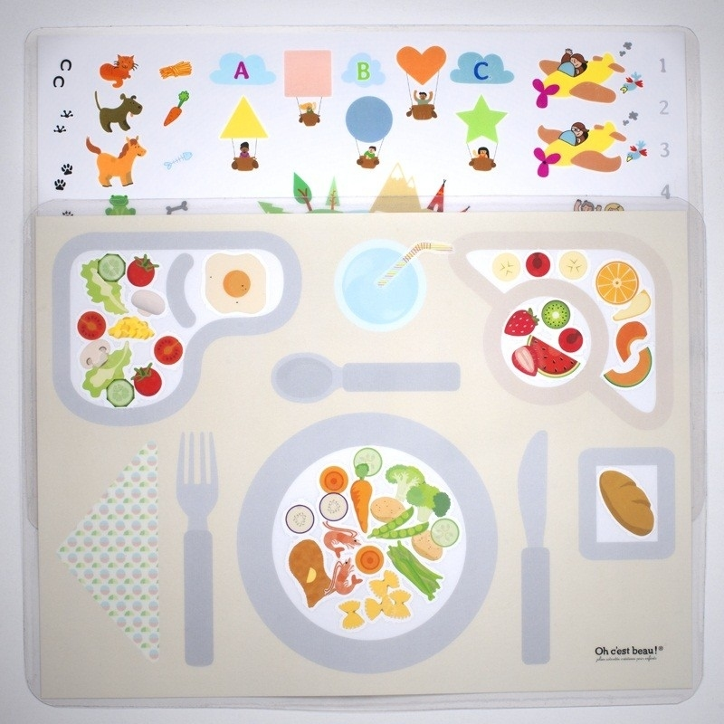 Set de table enfant oh c 39 est beau for Set de table pour enfant
