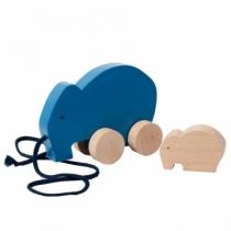 elephant-jouet-bois-a-tirer
