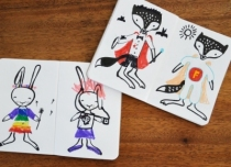 cahier-wee-gallery-lapin-renard-decores