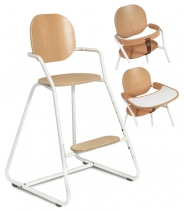 Chaise évolutive TIBU blanche
