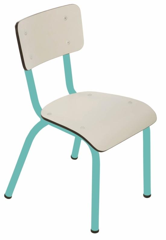chaise d 39 enfant dition limit e turquoise les gambettes. Black Bedroom Furniture Sets. Home Design Ideas