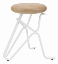 Companion-tabouret-design-pied-blanc