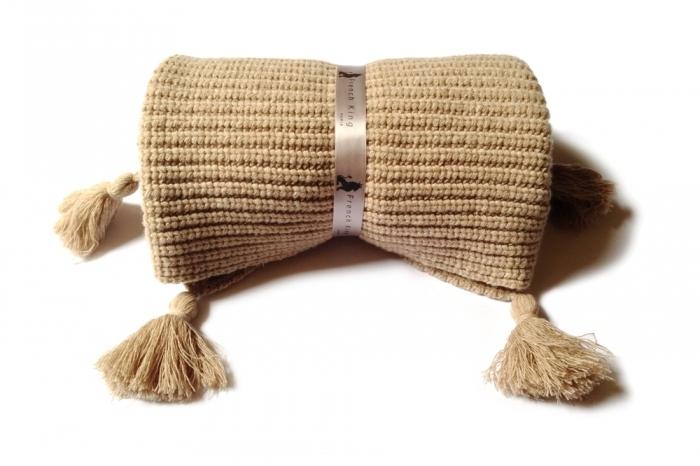 couverture-bébé-laine-marron