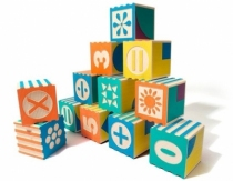 Cubes Math�matiques Groovie Maths - set de 28