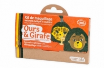 Maquillage-bio-namaki-deguisement-ours-girafe