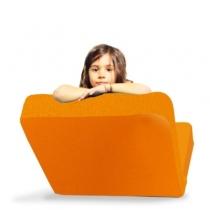 Assise-et-matelas-ludique-pour-enfant-domino-orange