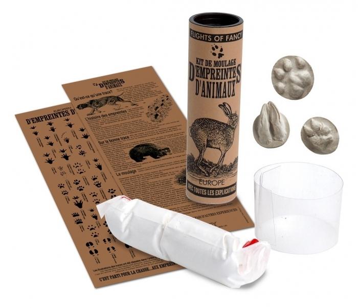Empreintes d'animaux - le kit