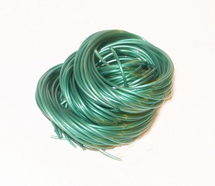Scoubidou-vert-metal