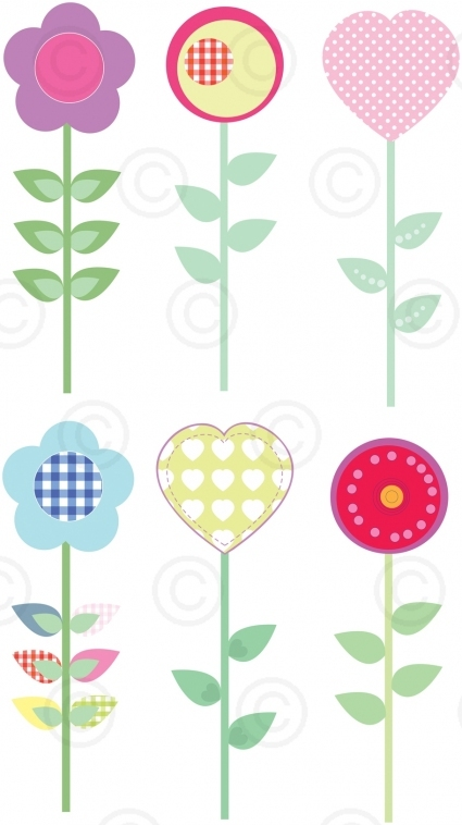 Fleurs-sticker-mural-facile