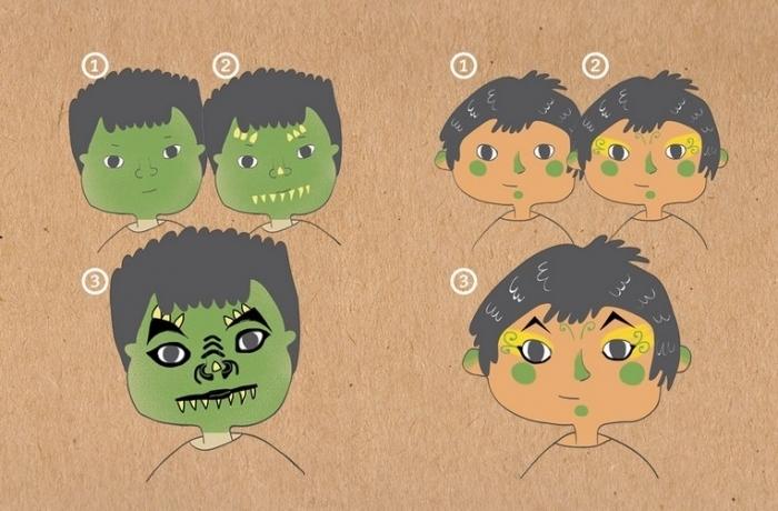 Dragon-lutin-maquillage-facile-enfant