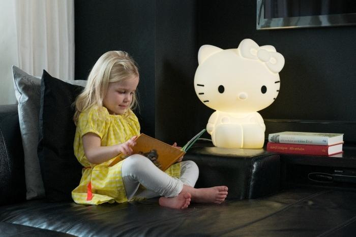 lampe-design-chambre-fille-hello-kitty