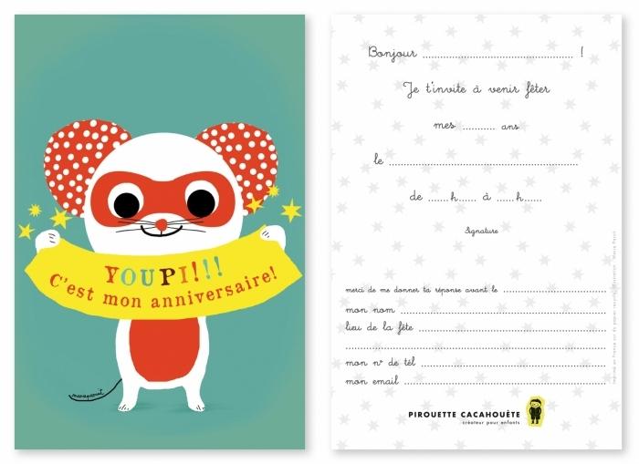 cartes-invitations-souris-pirouette-cacahouete