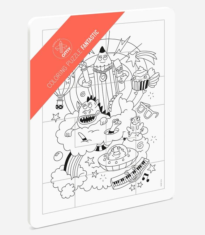 Livre puzzle a colorier id e inspirante for Puzzle a colorier gratuit