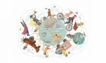 Puzzle-design-carton-jouet-design