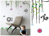 Sticker-deco-chambre-enfant-jungle
