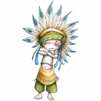 sticker-enfant-little-big-man-indien-acte-deco