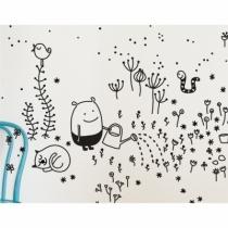 Sticker-enfant-graphique-noir-et-blanc-jardinier
