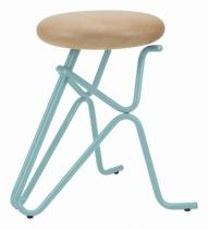 Tabouret-design-companion-bleu