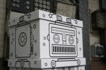 Boite-rangement-jouets-robot-villa-carton