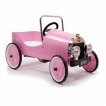 Voiture-pedale-metal-jouet-enfant-rose