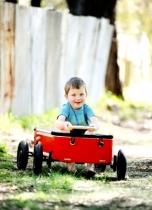 Wishbone-design-voiturette-wagon-rouge
