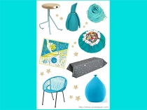 Planche tendance : Turquoise