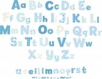 04014___blue_alphabet