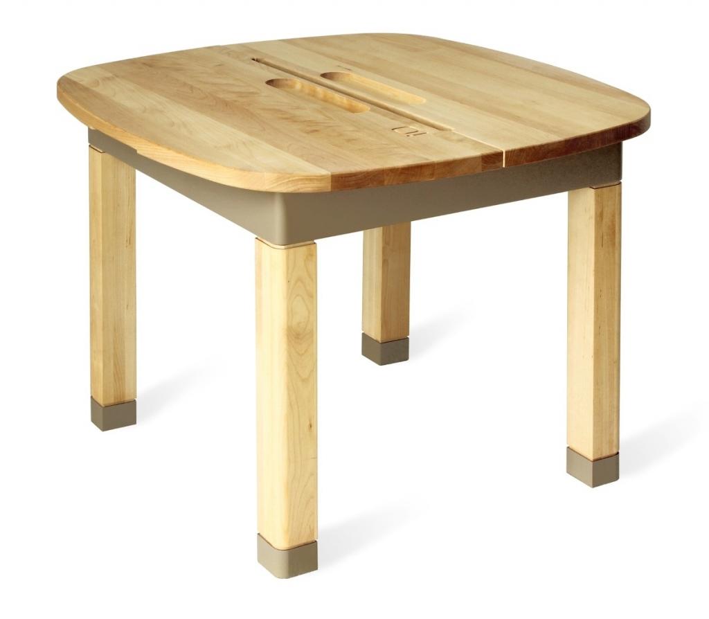 Bureau d 39 enfant table aldabra gris taupe - Bureau gris taupe ...