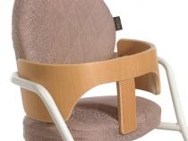 TIBU White Detail - Chardon Brown Cushions