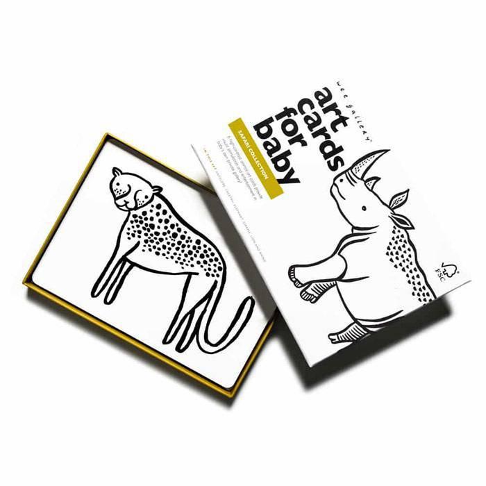 Cartes imagier animaux - Safari