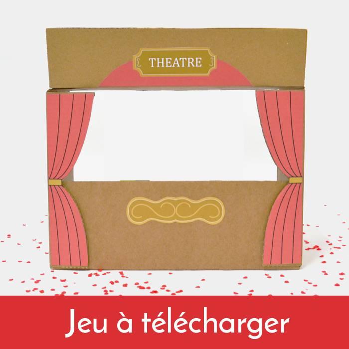 Printable - Seconde vie au carton - Le Théâtre