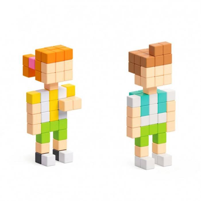 personnages-pixio-coffret-400-cubes