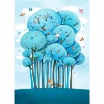 sticker-fresque-enfant-dans-les-arbres-ACTE-DECO