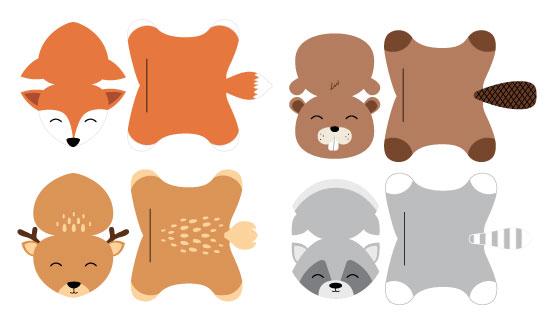 imprimer-decouper-assembler-animaux-des-bois