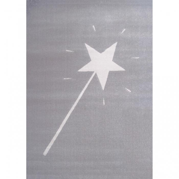 tapis gris baguette magique artforkids - Tapis Gris