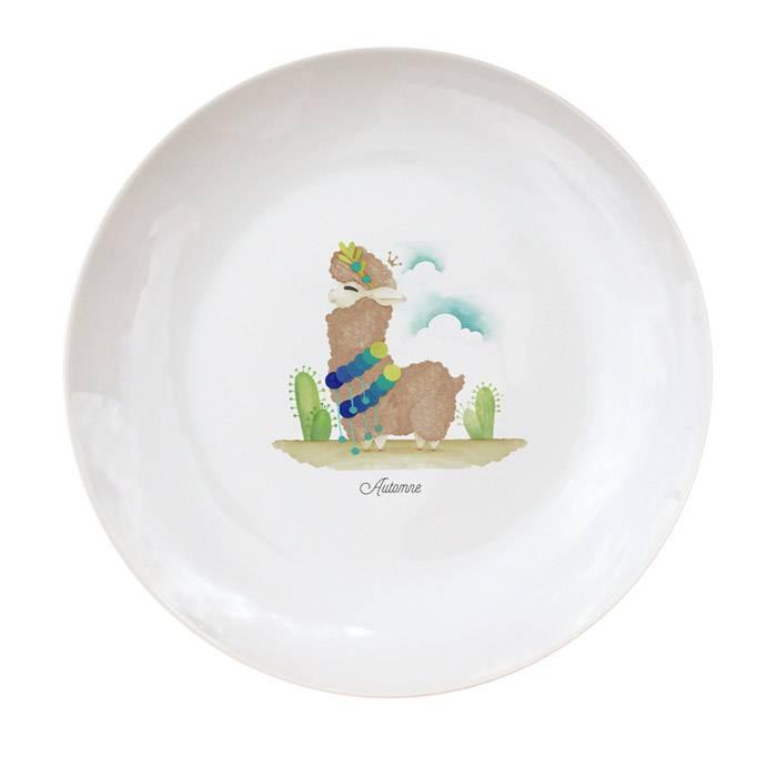 vaisselle-assiette-enfant-porcelaine-illustree