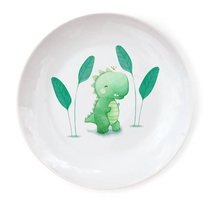 Assiette Porcelaine de Limoges - Dino