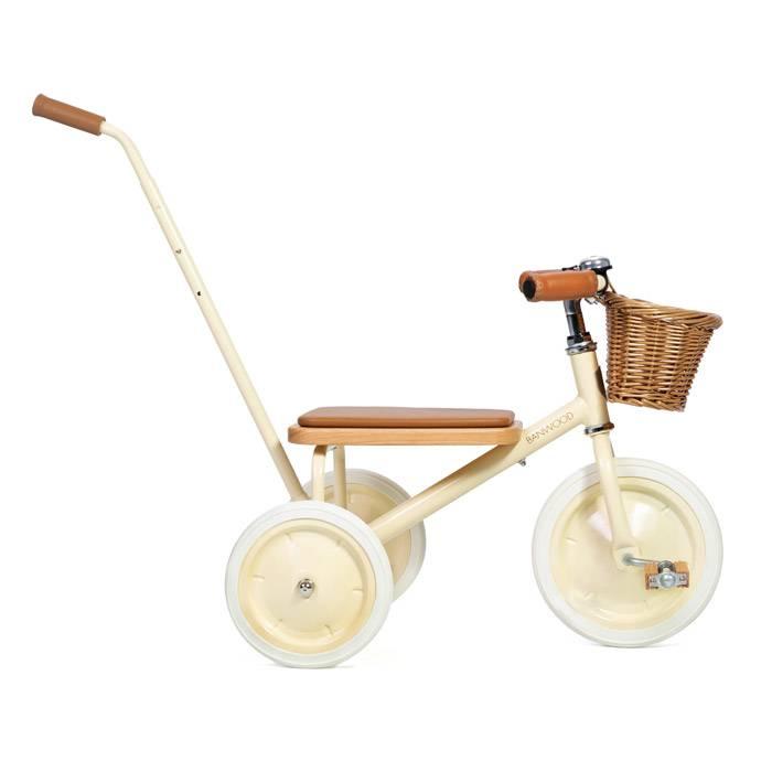 tricycle-vintage-beige-banwood-barre-de-poussee