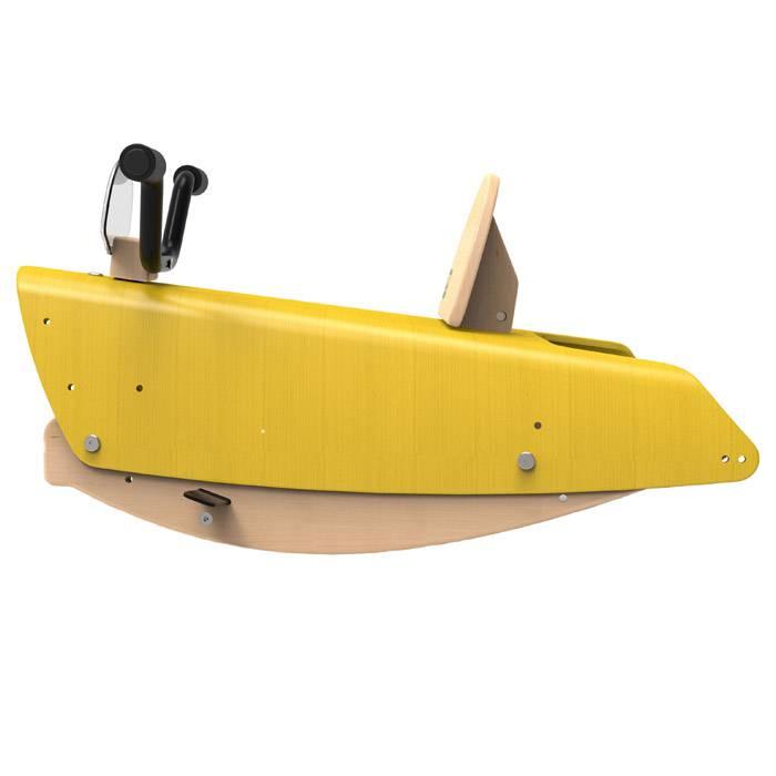 chou-du-volant-bascule-moto-jaune