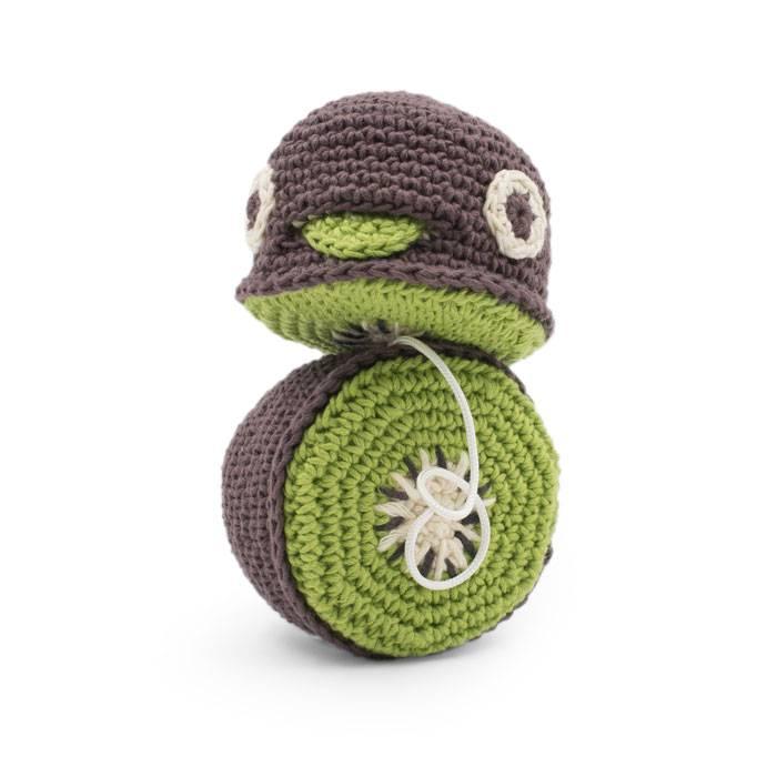 Billy le kiwi vibrant au crochet - MyuM