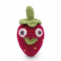 Blaise mini fraise au crochet - MyuM