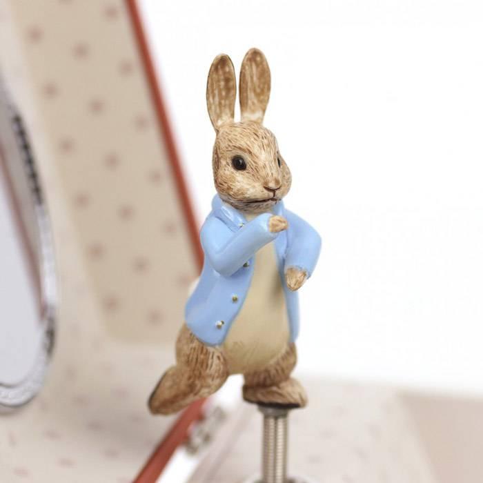 Boite à musique cube Peter Rabbit