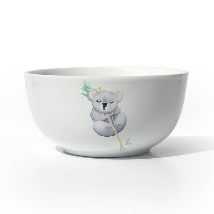 Bol-Porcelaine-de-Limoges-Koala-Galle-Duval