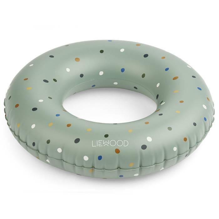 liewood-plein-air-bouee-enfant-couleur-vert-menthe-confetti