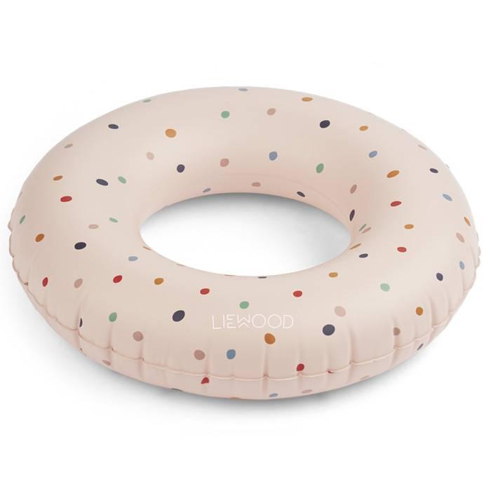 liewood-bouee-baloo-confetti-rose-diametre-45cm