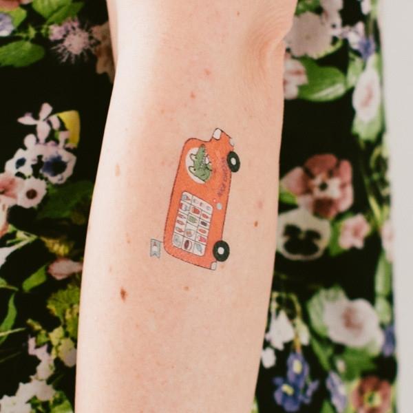 tatouage ph m re ou d calcomanie non toxique pour enfants. Black Bedroom Furniture Sets. Home Design Ideas