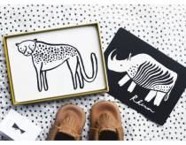 Cartes-imagiers-black-and-white-safari