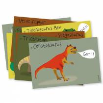 Lot-de-8-cartes-invitation-dinosaures