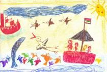 petit-cadeau-amusant-cartes-postales-a-dessiner