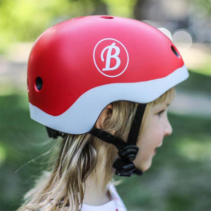 casque-velo-tricycle-rouge-enfant-baghera